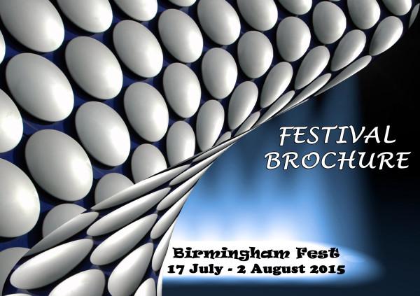 Bham Fest 15 brochure